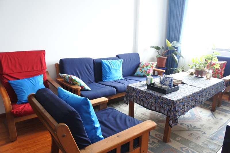 Budget apartment with 2 bedrooms for rent in Packexim 2 tower, An Duong Vuong street, Tay Ho district 9