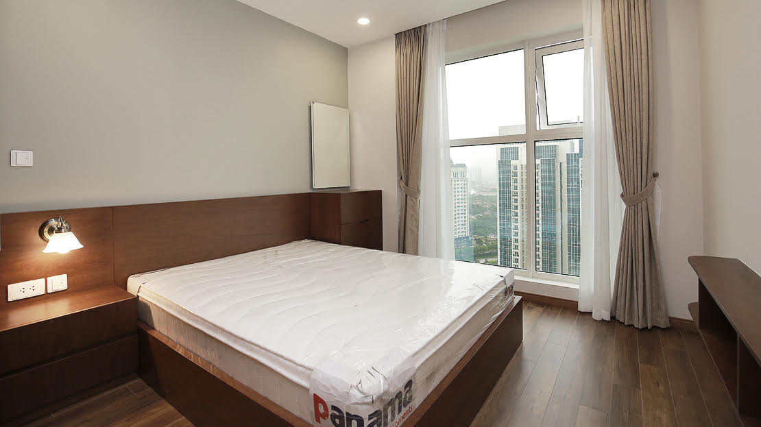 Modern apartment with 3 bedrooms for rent in L3 The Link Ciputra Hanoi 18