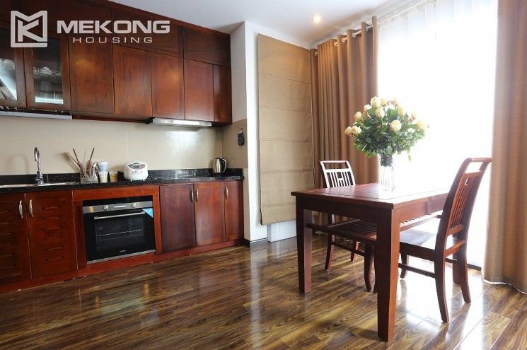 Nice serviced apartment for rent in Cau Giay district with a bedroom 2