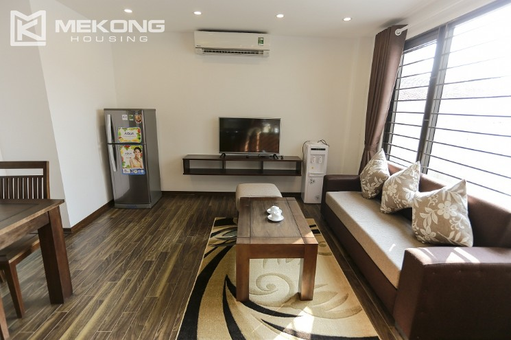 Serviced apartment for rent in Cau Giay district, a bedroom 12