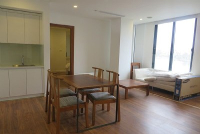 Serviced apartment for rent near Le Duan street with lake view