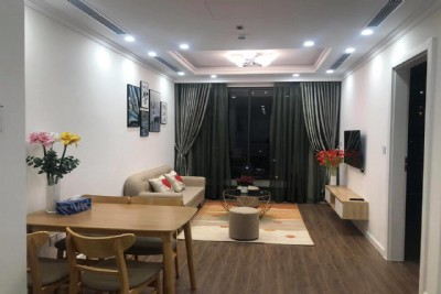 Sunshine Riverside apartment for rent, area 81 sqm, 2 bedrooms, 2 bathrooms, large balcony.